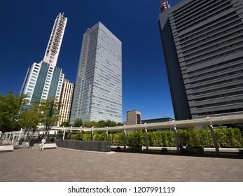 Saitama Shintoshin downtown office building city