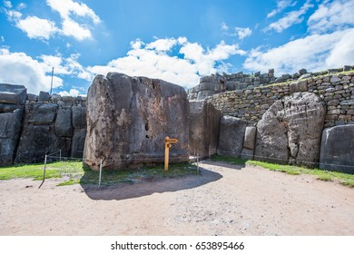 Saksaywaman, Inca ruins in Cusco, Peru