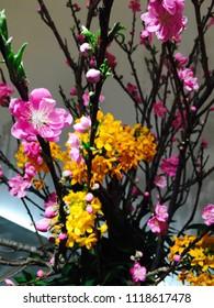 Sakura Flower Arrangement Japanese style call -Ikebana