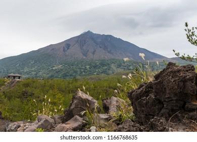 Sakurajima in japan