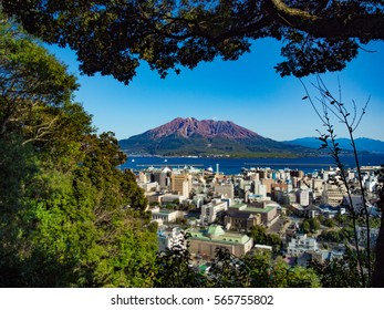 Sakurajima in Kagoshima, Japan
