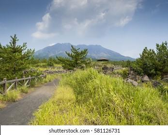 Sakurajima Volcano, Kagoshima, Japan