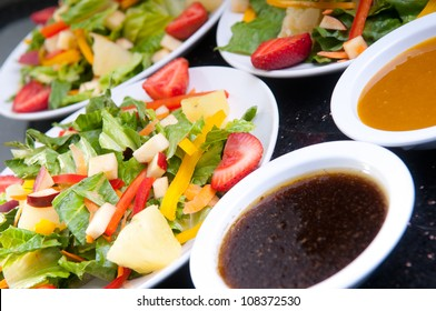 Salad and Dressing on the side