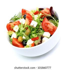 Salad with feta