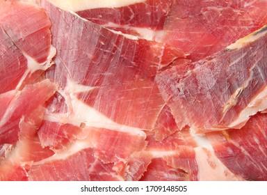 salad ham as gourmet gastronomy