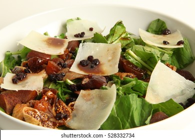 Salad with Parmesan Cheese