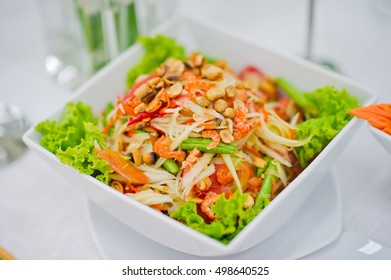 salad thai  papaya salad