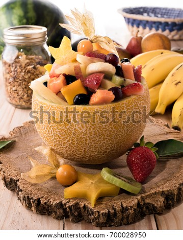 Apple Star Fruit Salad