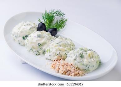 salad tzatziki