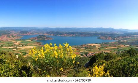 Salagou-See im Süden des France