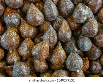 Salak fruit (Salacca/Zalacca) for sell in market