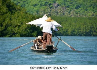 Salak Khok at Koh Rang-Koh Chang Islands Marine Park, Trat, Thailand.