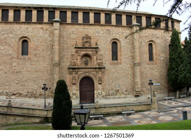 SALAMANCA, CASTILE AND LEON/SPAIN - DECEMBER 22, 2018: Las Dueñas convent of the Dominican order located in the city of Salamanca.