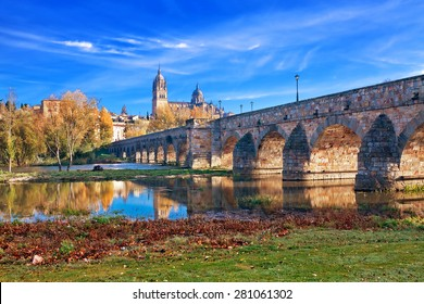 Salamanca Cathedral. Castile and Leon, Spain