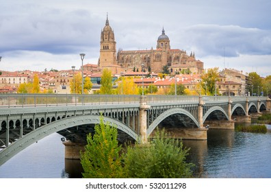 Salamanca is a city of Castilla y Leon, Spain, with a beautiful medieval historic center.