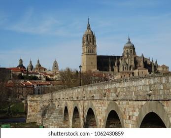 Salamanca form the river