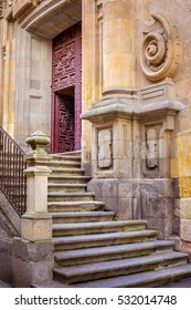 Salamanca, Spain, has a beautiful historic center with well preserved buildings that bring you back in time!