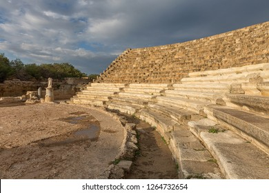 Salamis is an ancient Greek city-state on the east coast of Cyprus