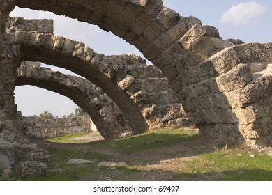 Salamis ruins in cyprus