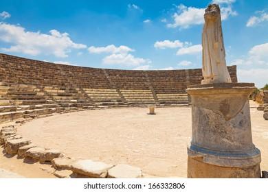 Salamis Ruins in Northern Cyprus