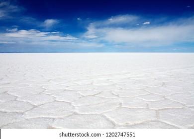 Salar de Uyuni, the biggest salt flat in the world, Bolivia