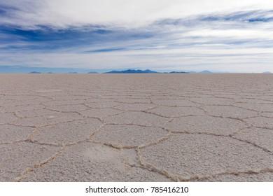 Salar de Uyuni salt marsh