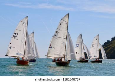 Salcombe sailing boats