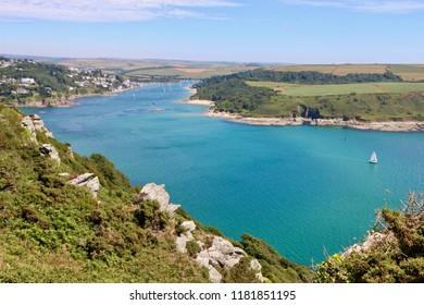 Salcombe summer view