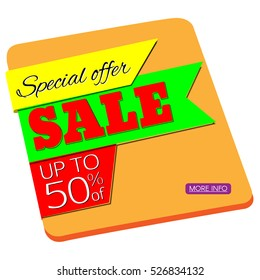 Sale banners design.
