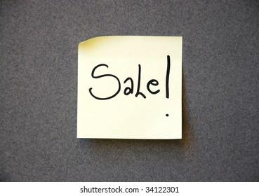 sale message