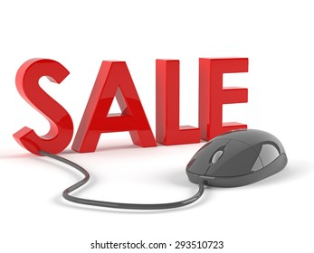 Sale with mouse