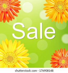 Sale Poster With Gerber