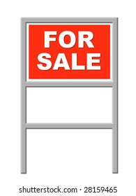 For Sale - Real Estate Sign