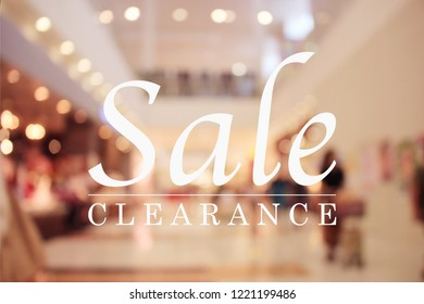 sale, shopping and shopping mall