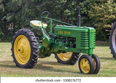 Salem, Connecticut  September 14th 2019 Antique John Deere tractor
