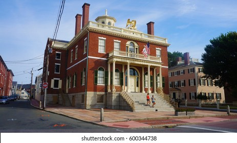 Salem, Massachusetts, USA - August 20, 2013:Salem is a city in the Essex district of Massachusetts, until 1999 one of the county's administrative centers.