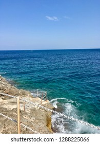 The Salento coast between Castro and Santa Cesarea Terme in Puglia (Lecce) - A marvelous Italian sea, whose smooth crystal and transparent waters are blue and green | Photo
