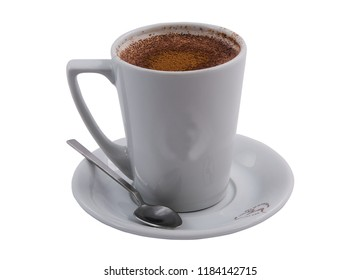 Salep with layered white background