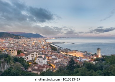 Salerno is a city and comune in Campania (south-western Italy) and is the capital of the province of the same name. It is located on the Gulf of Salerno on the Tyrrhenian Sea.