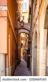 salerno narrow back alley