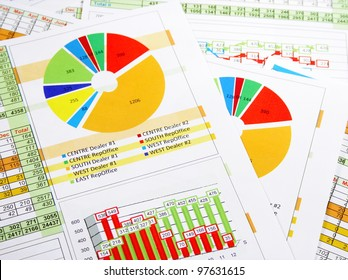 Sales Annual Report in Graphs and Charts