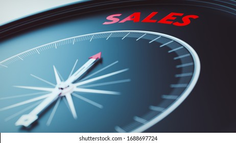 sales concept picture (3D Render)