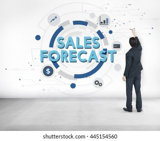 Sales Forecast FInance Analyst Competition Concept