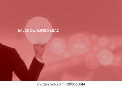 sales qualified lead (SQL) concept