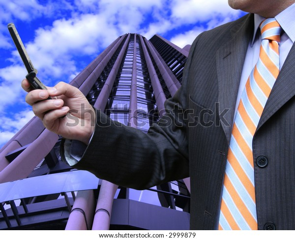 Salesman calculating