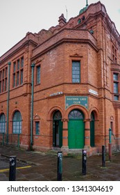 Salford, UK-March 8,2019: Salford Lads Club, Backdrop to the cover of a famous album by backdrop to the cover of a famous album byeThe Smiths