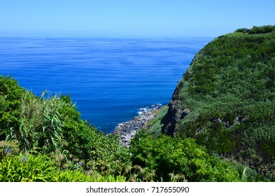 Salga on the Sao Miguel Island, the largest volcanic island in the Portuguese archipelago of the Azores