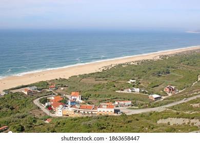 Salgado Beach and coast of Portugal