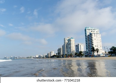Salinas Beach, Ecuador. December 2017.