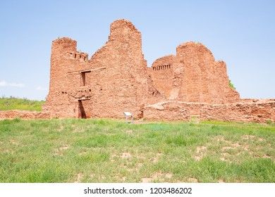 Salinas Pueblo Missions National Monument in New Mexico, Quarai Ruins, USA